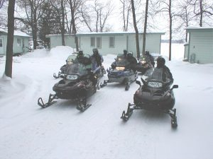 Longeville MN Snowmobiling